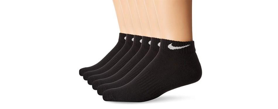 nike performance cushion low rise socks