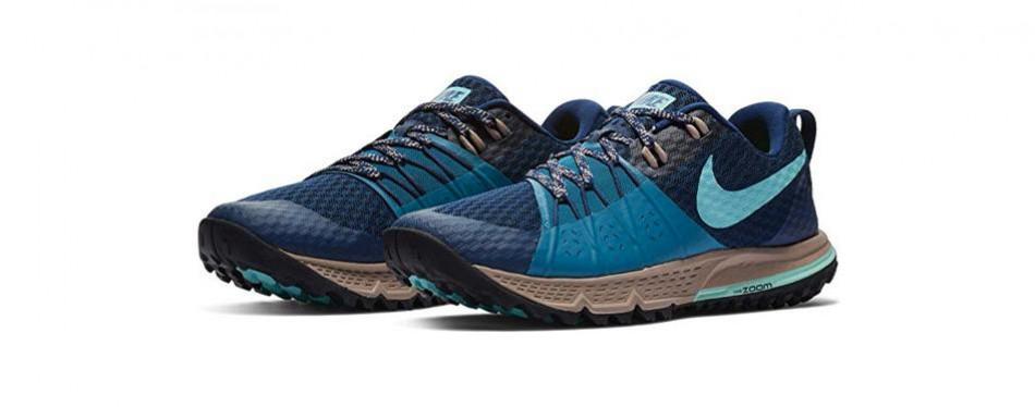 nike women's air zoom wildhorse 4 trail running shoe