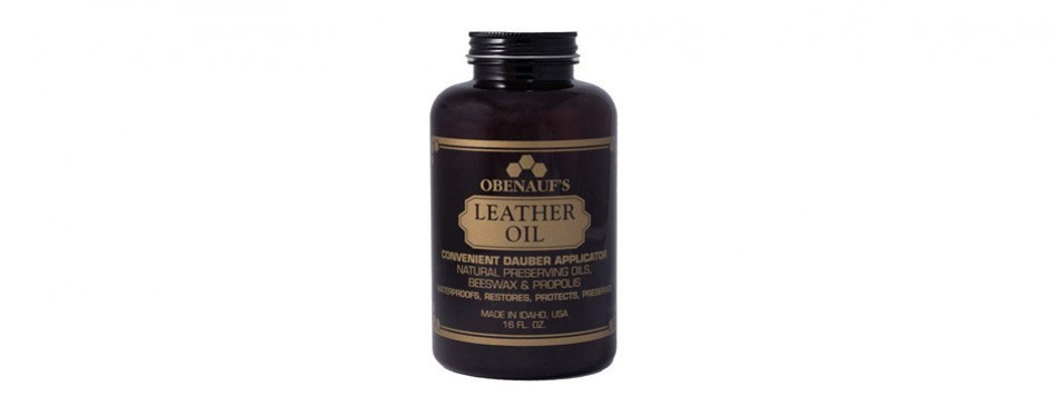 obenauf's leather oil condition restore dry leather