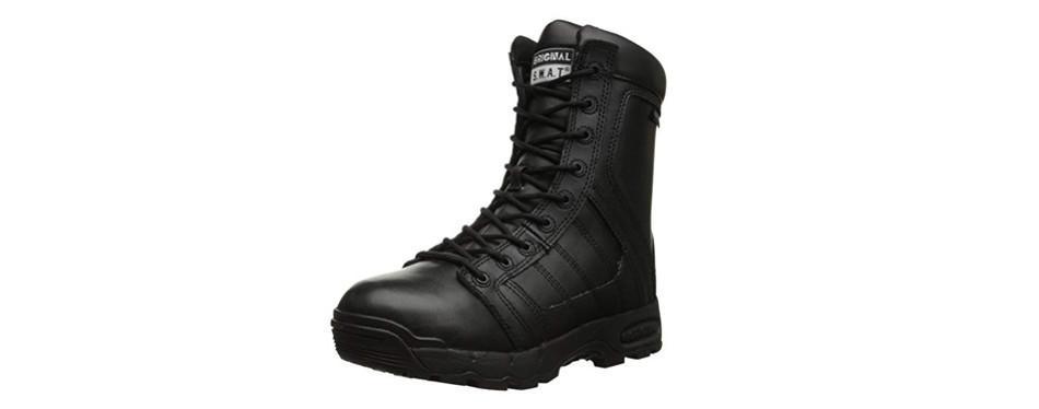 original s.w.a.t. men's metro air 9-inch waterproof side-zip tactical boot
