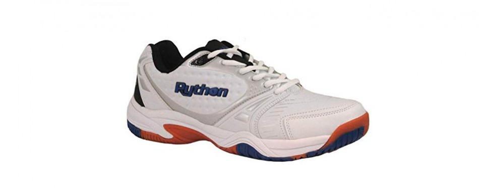 python men's deluxe indoor low racquetball shoe