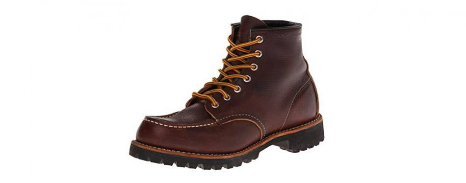 red wing heritage roughneck lace-up boot