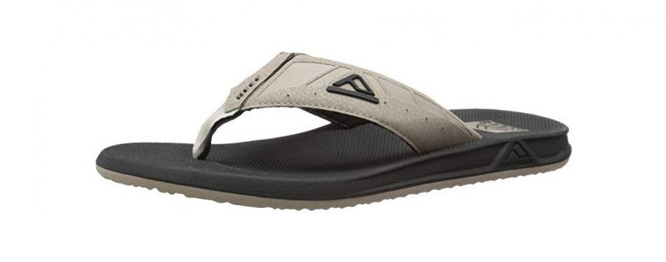 reef mens sandals phantom