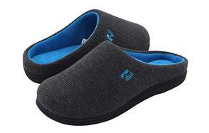 rockdove two-tone memory foam slipper