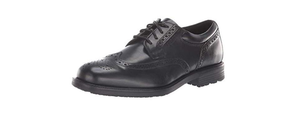 rockport essential details wingtip oxford shoe