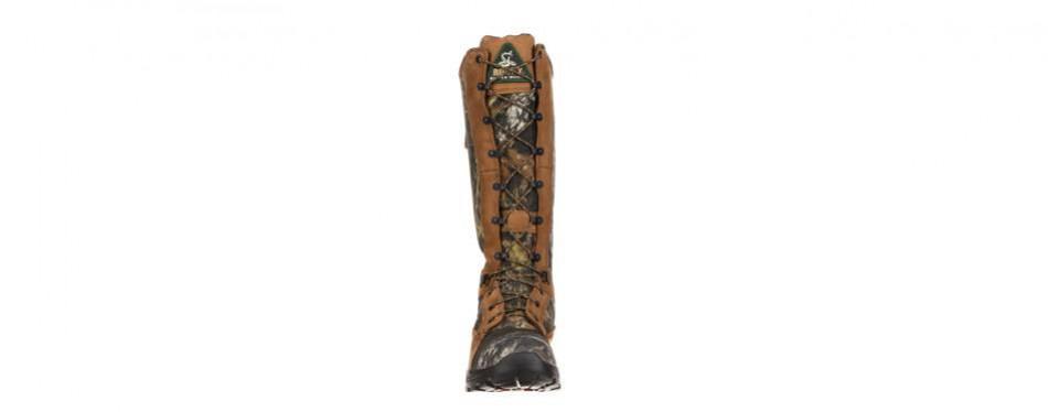 rocky men's 16 inch waterproof snake proof 1570 hunting boots