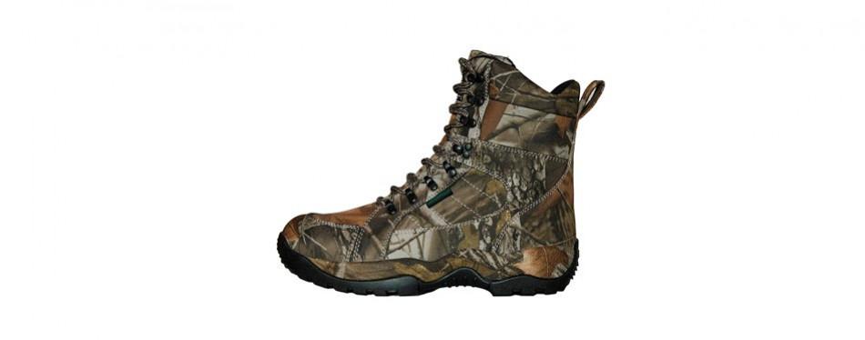 runfun men's lightweight anti-slip waterproof hunting boots