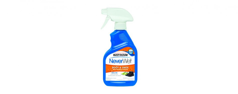 rust-oleum neverwet boot and shoe spray