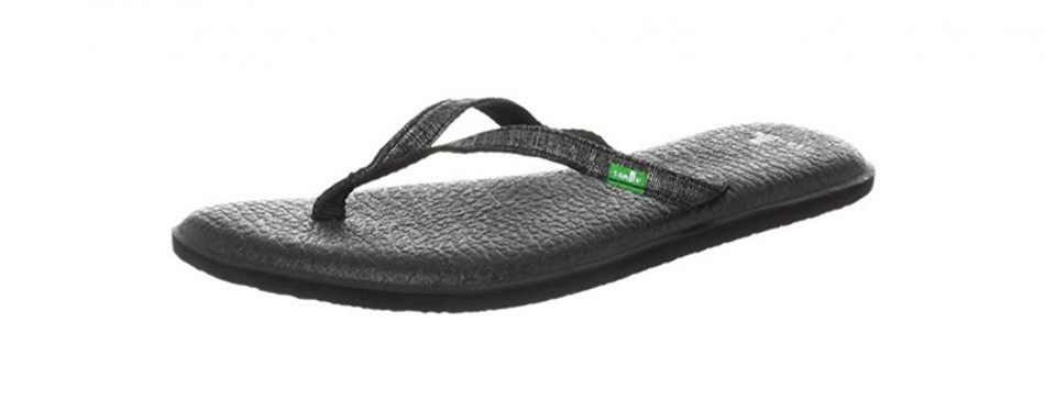 sanuk women's yoga spree two flip-flop