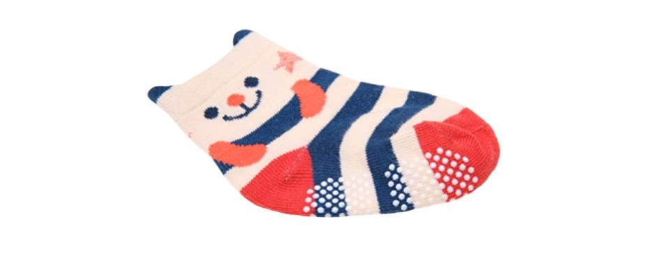 sdbing baby's anti slip cotton socks