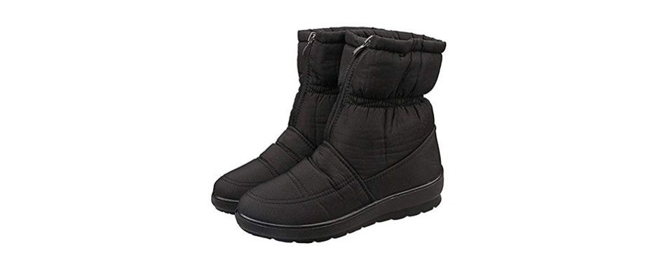 sfnld fully fleece ankle boots