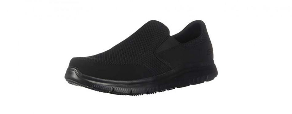 skechers for work men's flex mcallen shoes
