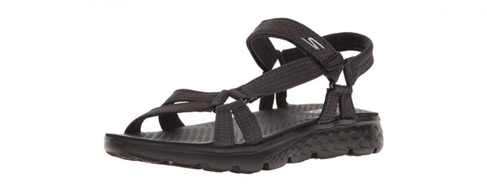skechers performance women's on the go 400 radiance flip flop