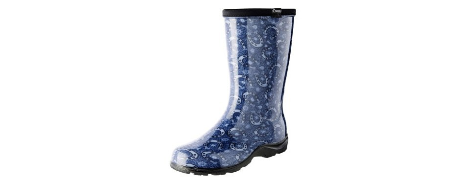 sloggers women's long waterproof rain & garden boot