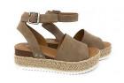 soda women's casual clip espadrille sandals