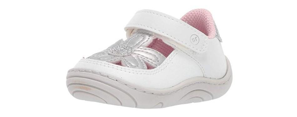 stride rite kids daisy t-strap sneaker