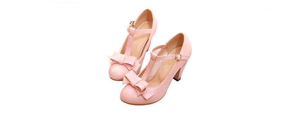 susanny women's t-strap dress pumps