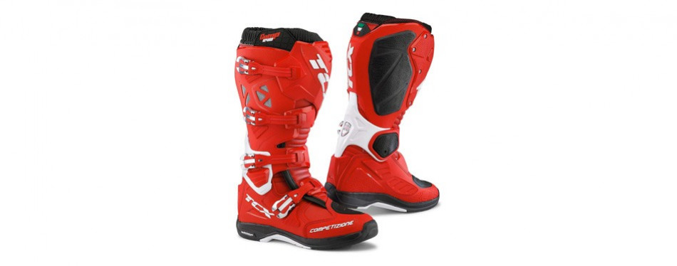 tcx comp evo 2 michelin men's off-road motorcycle boots