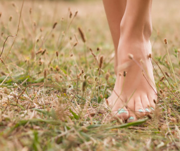 things to keep in mind when going barefoot