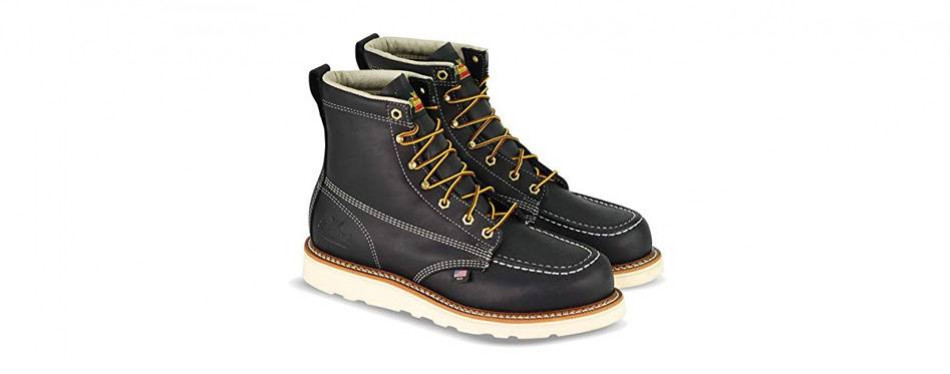 thorogood american heritage moc toe boot