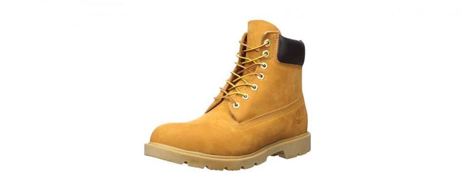 timberland basic contrast collar boot