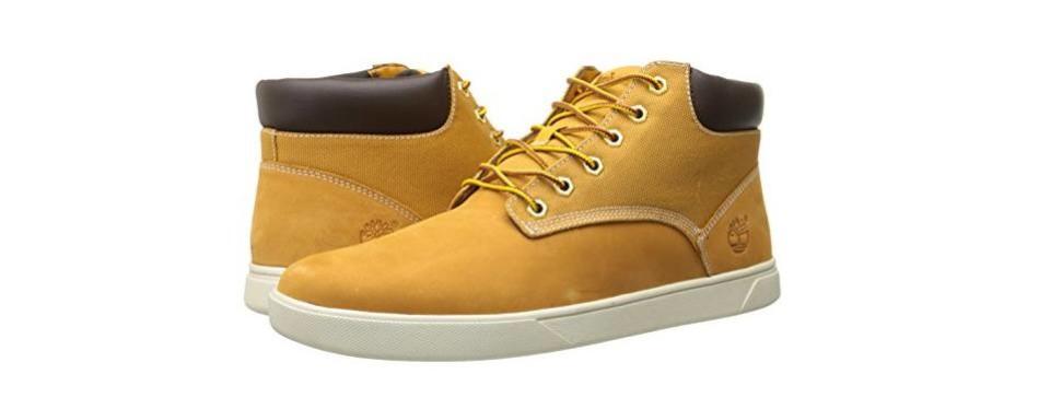 timberland men's groveton plain-toe chukka boot