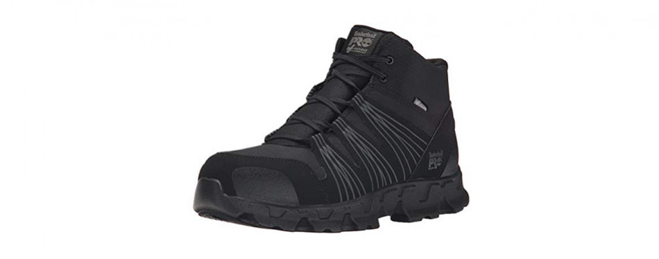 timberland pro men's powertrain mid alloy-toe industrial boot