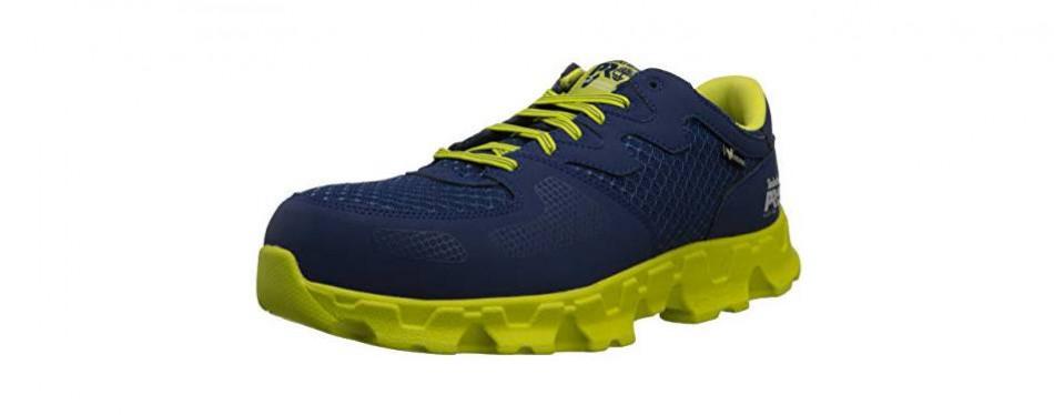 timberland pro men's powertrain alloy-toe eh industrial shoe