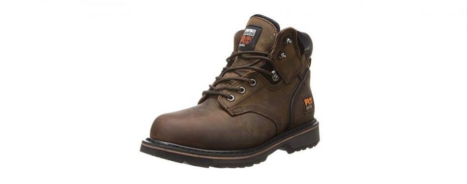 timberland pro pit boss steel-toe boot