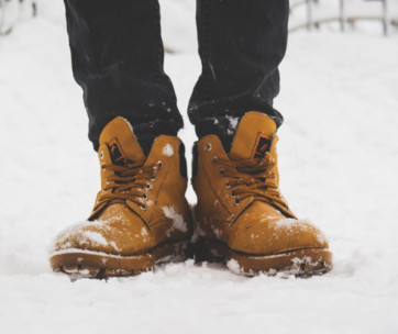 tip to winter-proof your shoes