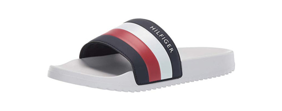tommy hilfiger men's rozi slide sandal