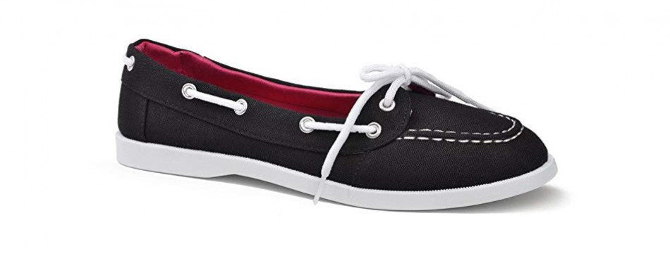 twisted women's bonnie casual boat shoe