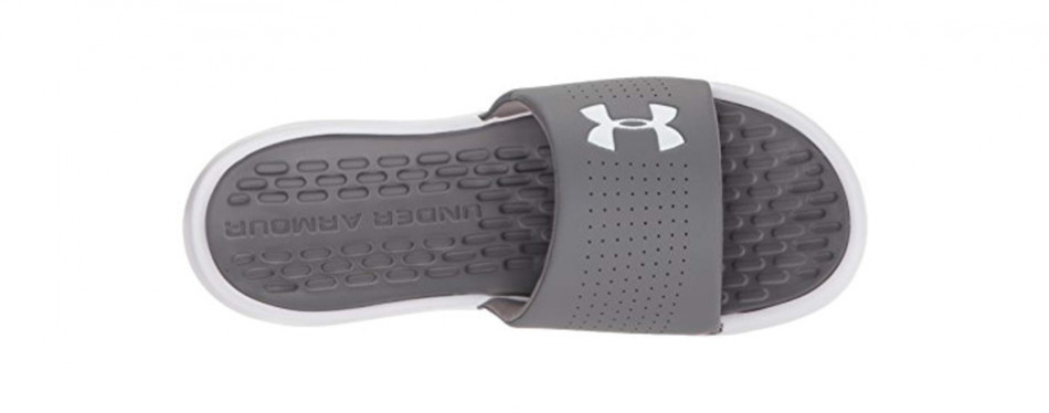 under armour men's playmaker fix slide sandals