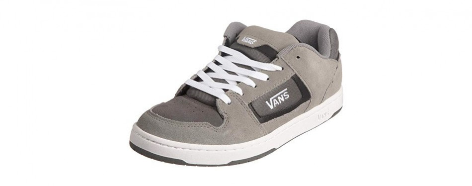 vans men docket skate suede leather logo shoes
