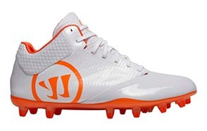 warrior men's burn 9.0 mid lacrosse shoe