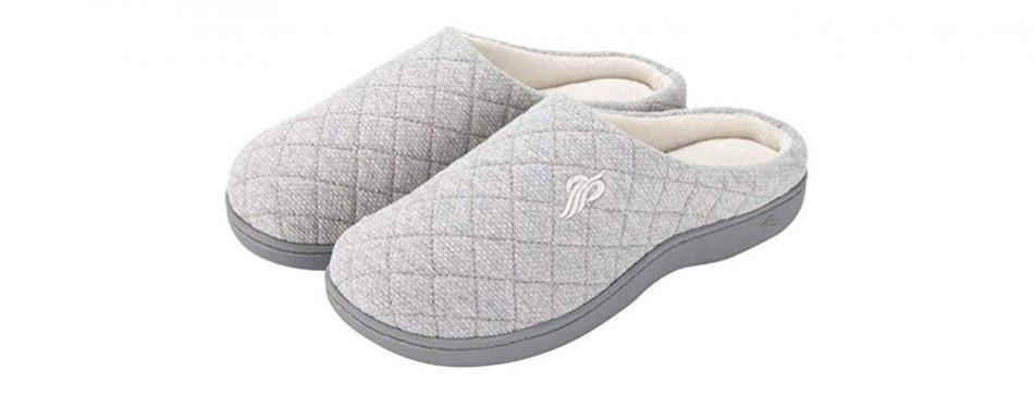 wishcotton breathable memory foam slippers