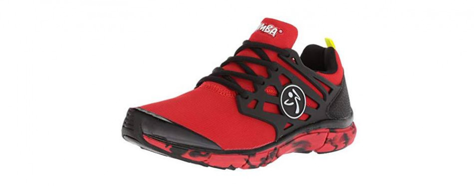 zumba women's fly fusion athletic dance shoes